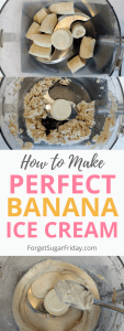 Learn the secrets to making perfect banana ice cream! Banana ice cream is an awesome sugar-free, dairy-free dessert. You'll love it!