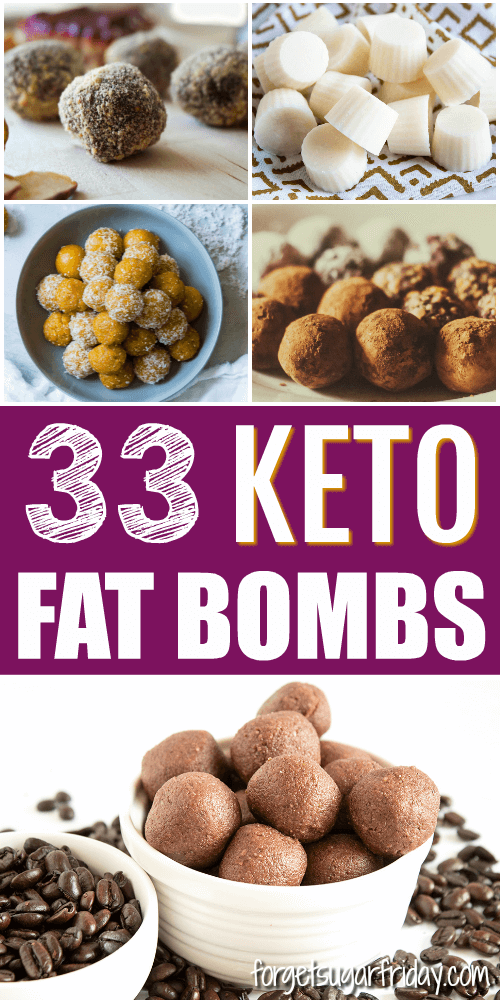 EASY keto fat bomb recipes!! If you want to boost your fat intake on a keto diet or low carb diet, fat bombs are a great way to do it! In this post, I've compiled 33 drool-worthy ketogenic fat bombs recipes for you to try. From chocolate fat bombs to nut-free fat bombs to coconut fat bombs, you're sure to find a favorite on this list! #ketorecipes #keto #ketodiet #ketogenic #lchf