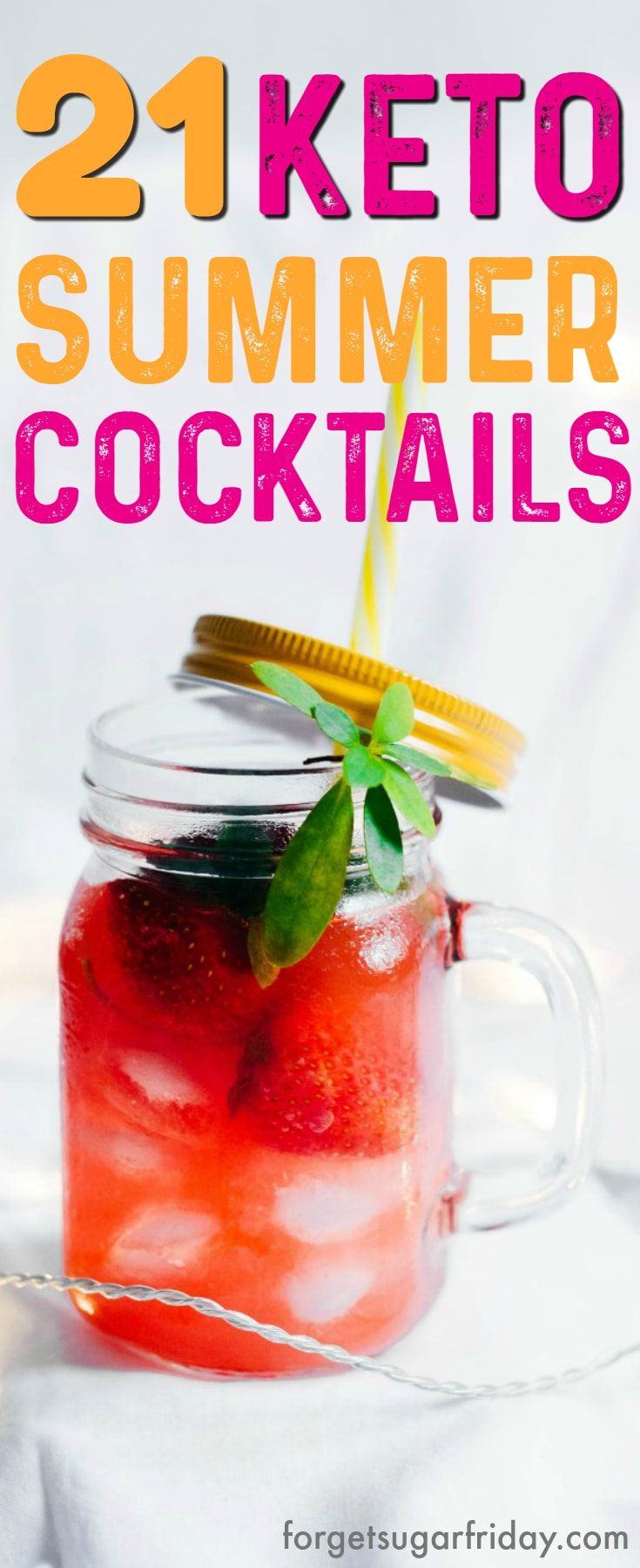 The BEST Keto Cocktails!! Umm, cocktails on the keto diet? Heck yeah!! This post includes 21 AMAZING keto cocktails that taste incredible without the carbs! This post includes such a huge selection of keto recipes. Wait until you see number 9! #keto #ketogenic #ketodiet #ketorecipes #ketococktails #lowcarbcocktails