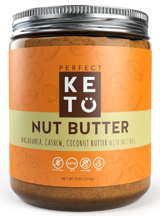 perfect keto nut butter jar