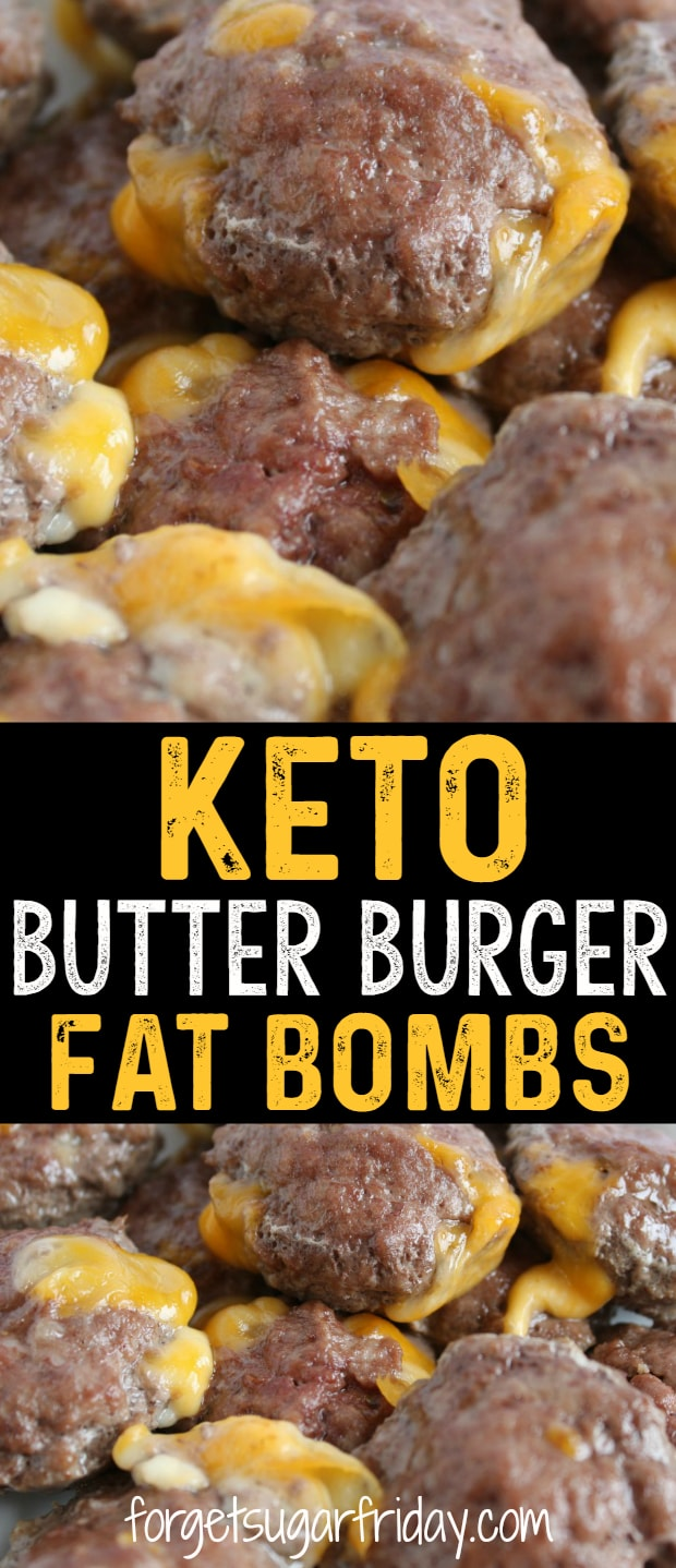 The ULTIMATE keto savory fat bombs!! These Keto Butter Burgers are bursting with flavor and have ZERO carbs. Each Butter Burger fat bomb has 10g fat, so they'll help you perfectly stick to your keto diet. Plus they're a super easy keto recipe! #keto #ketofatbombs #ketodiet #ketorecipes