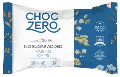 bag of choczero milk chocolate chips