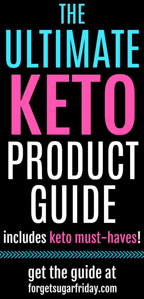 Looking for the BEST keto products? Check out my Ultimate Keto Product Guide (including keto must-haves)! From MCT oil to almond flour to keto sweeteners to keto protein powder, I've put together a list of the best keto products and most-trusted keto brands. Whether you're a keto newbie or a keto veteran, you'll find something on this list for you! #keto #ketodiet #ketogenic