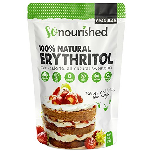 keto breakfast bag of erythritol for recipes