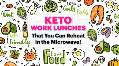 keto work lunches with a variety of keto foods