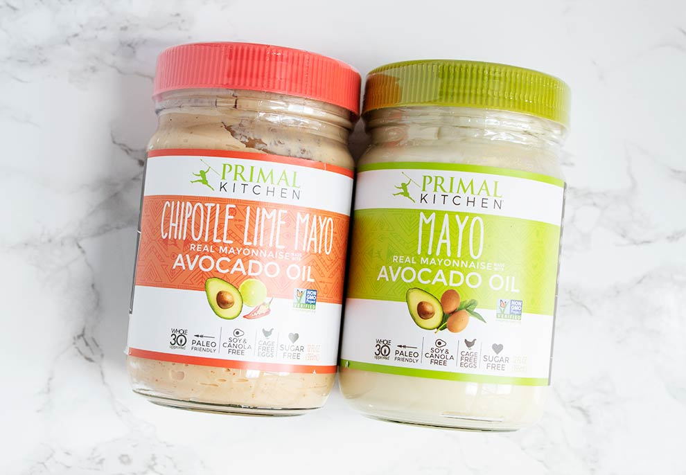 keto thrive market items including two bottles of mayo