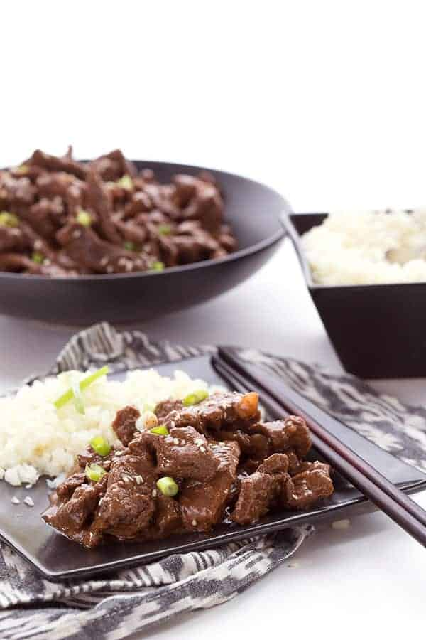 low carb takeout mongolian beef