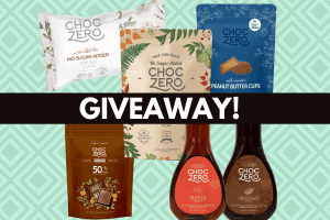 keto choczero pictures of products like syrup and chocolates