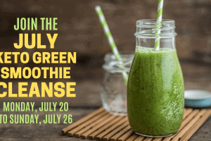 july keto green smoothie cleanse