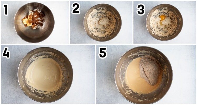 step by step process for making cookies